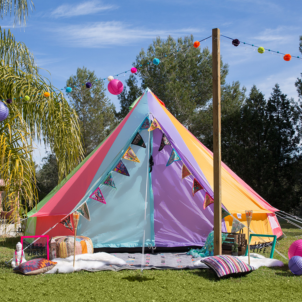 Could this be my new rainbow tent? - Craft and Travel