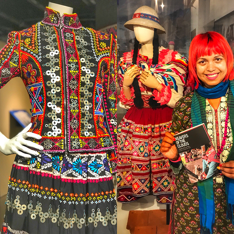 Weavers Of The Clouds Textile Arts Of Peru Peruvian Fashion Crafts And Textiles At The Fashion Textile Museum London Craft And Travel
